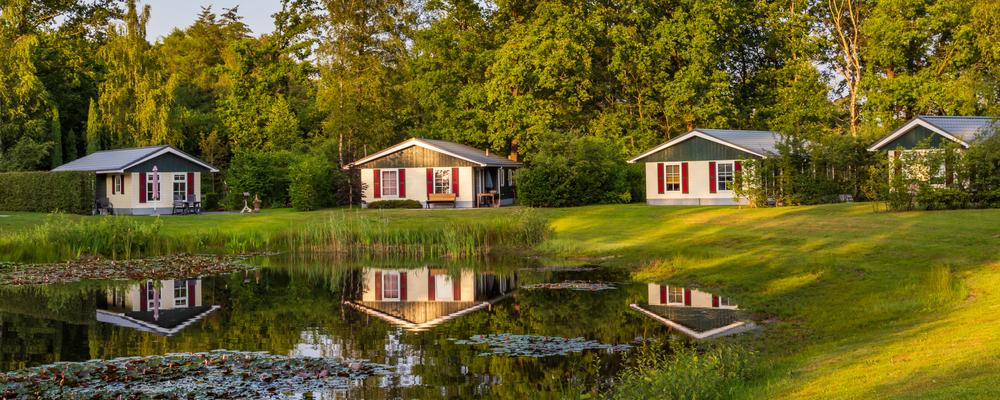 Groepsaccommodatie meerdere huisjes